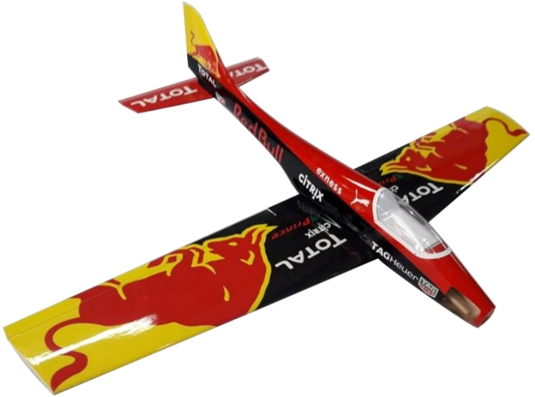 AEROMODELO BUPPO 40 RED BULL TOTAL PRINCE AIRCRAFT