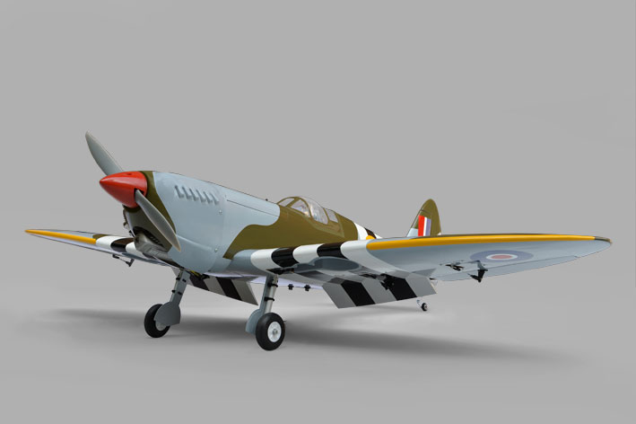 AEROMODELO SPITFIRE 60/75 TREM RETRATIL ARF PH067 - PHOENIX MODEL