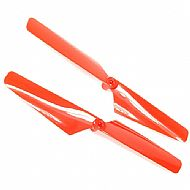 TRAX 6628 - Rotor blade set red 2