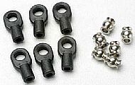 TRAX 5349 - Rod ends small w- hollow balls